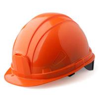 Каска защитная ШАХТЕР оранжевая