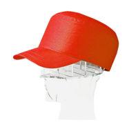 Каска-бейсболка КАСКЕТКА красная