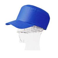 Каска-бейсболка КАСКЕТКА синяя