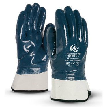 Перчатки МАНИПУЛА MS Нитрил КП MS 001