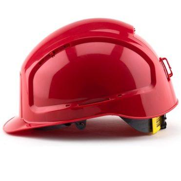 Каска защитная РОСОМЗ RFI-3 BIOT красная