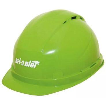 Каска защитная РОСОМЗ RFI-3 BIOT зелёная