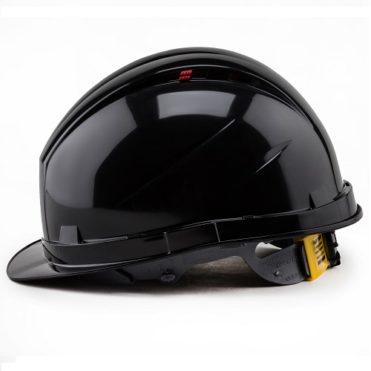 Каска защитная РОСОМЗ RFI-3 BIOT RAPID черная 72720
