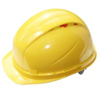 Каска защитная РОСОМЗ RFI-3 BIOT жёлтая