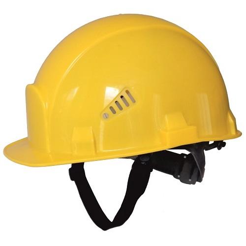 Каска защитная РОСОМЗ СОМЗ-55 ВИЗИОН жёлтая