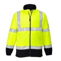 Огнестойкая антистатическая светоотражающая флисовая куртка PORTWEST PW-FR31