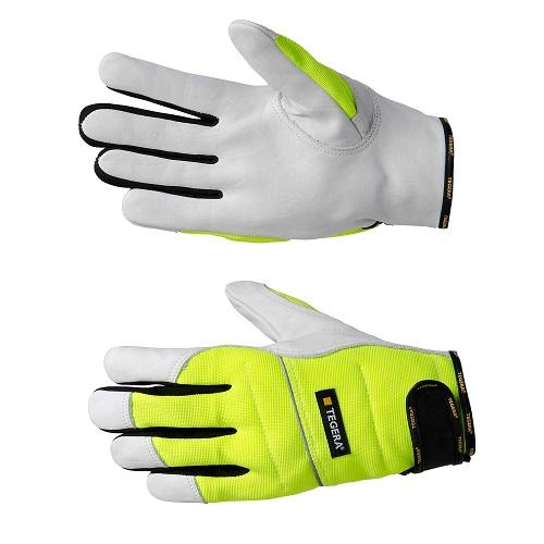 Перчатки TEGERA для защиты от порезов цепной пилой (951)