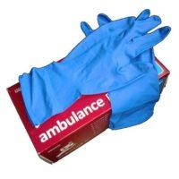 Перчатки латексные Ambulance PF