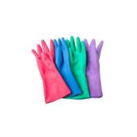 АЗРИ Перчатки резиновые хозяйственные двухслойные