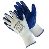 Перчатки нейлоновые с нитриловым покрытием N1002