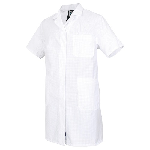 Мужской рабочий халат CONDUCTEX с коротким рукавом