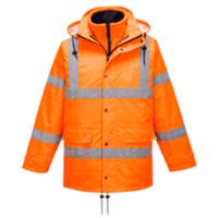 Светоотражающая воздухопроницаемая куртка PORTWEST Traffic (Интерактивная) PW-RT63