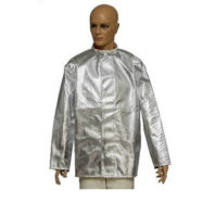 Куртка алюминизированная ALWITс застежкой велкро (стандарт EN 11612)