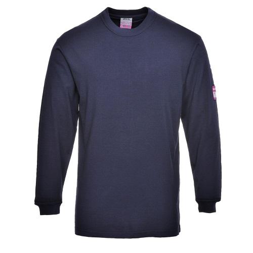 Огнестойкая антистатическая футболка PORTWEST с длинными рукавами PW-FR11
