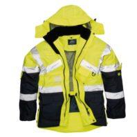 Светоотражающая двухцветная воздухопроницаемая куртка PORTWEST  PW-S760