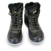 Ботинки КОМФОРТ кожаные на натуральном меху ПУ-ТПУ 02760