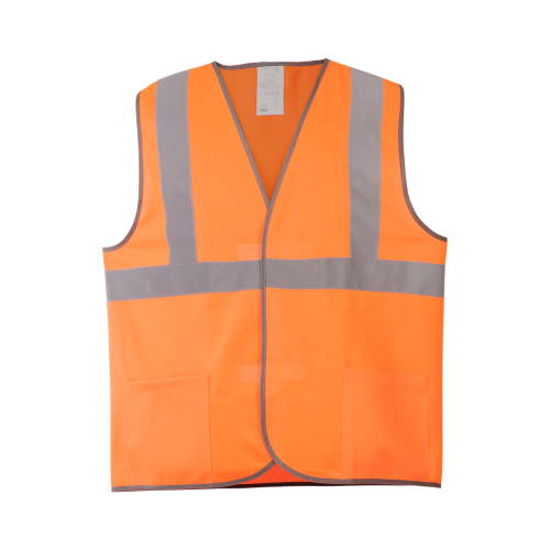 Жилет сигнальный 6АТ оранжевый 3 СОП с карманами