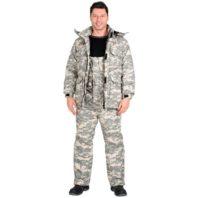 Костюм МУСТАНГ зимний: куртка, п/комб. (тк.Рип-Стоп) КМФ Пустыня 103204
