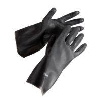 Перчатки АЗРИХИМ К20Щ20 тип 2 в индивидуальной упаковке черные