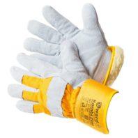 Перчатки утепленные спилковые комбинированные GWARD KOMBI ZIMA