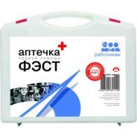 Аптечка ФЭСТ первой помощи работникам (пластиковый чемоданчик) 66234