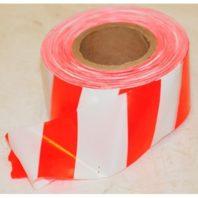 Лента для ограждений ЛО-250 ЗЕБРА красно-белая 75 мм х 250 м х 50 мкм 48688