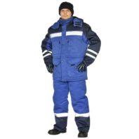 Костюм зимний ЗИМНИК куртка/брюки, синий КОС631-031