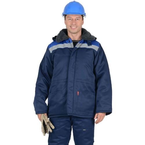 Куртка БРИГАДИР зимняя рабочая с СОП 100157
