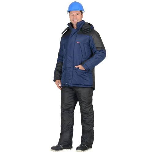 Куртка зимняя рабочая ЕВРОПА синяя 01024