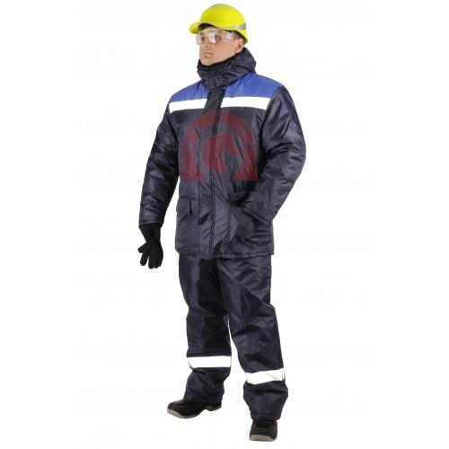 Куртка СТАНДАРТ зимняя рабочая с СОП 100468