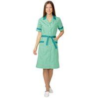 Халат КЛАССИКА женский зеленый 01204