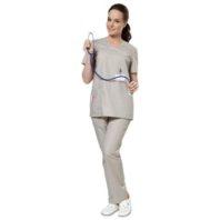 Комплект АУРА женский серый 169410