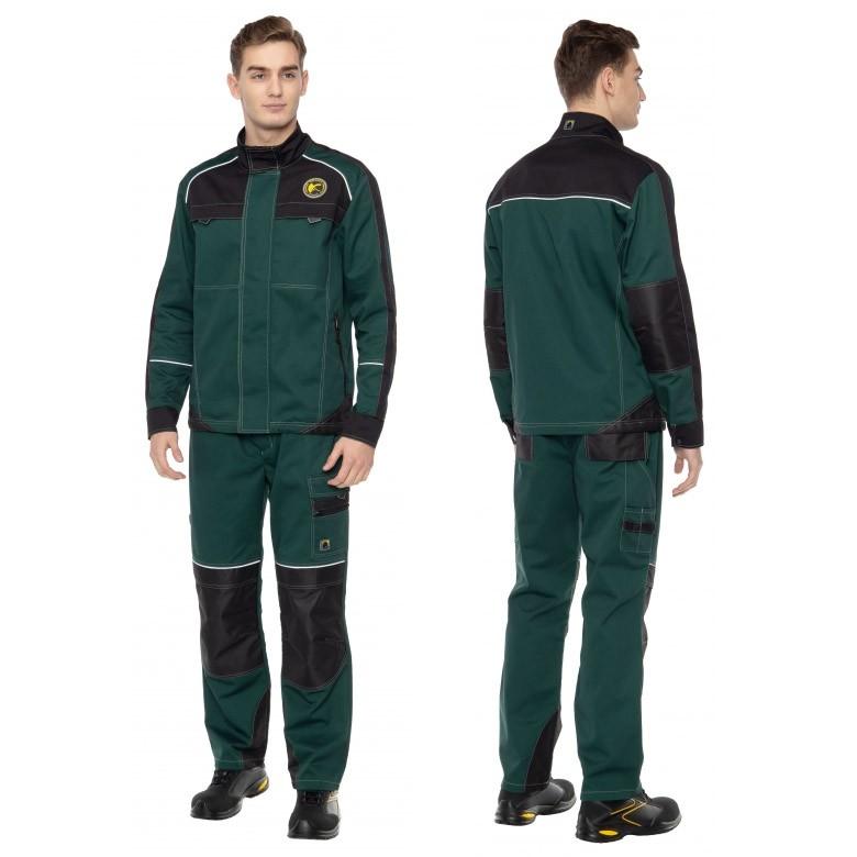 Летний костюм СТАРТ зеленый 171827 (куртка+брюки)