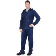 Куртка флисовая СИРИУС МЕРКУРИЙ 04393 темно-синяя