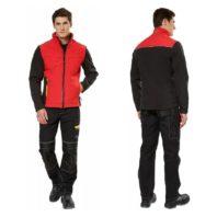 Куртка ТАЙМ красная софтшелл 168780