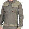 Куртка СИРИУС-ВЕСТ-ВОРК т.оливковый со св.оливковым пл. 275 г/кв.м 04357