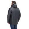 Куртка зимняя КОРСАР серый с черным 172761