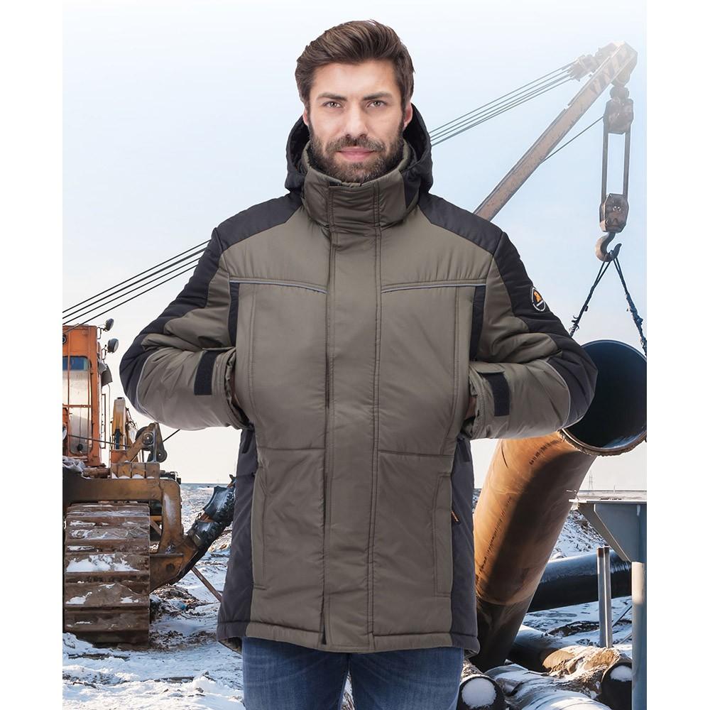 Куртка зимняя КОРСАР хаки 172760