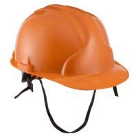 Каска защитная ЛИДЕР строительная оранжевая