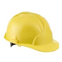 Каска защитная ЛИДЕР строительная желтая