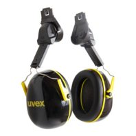 Наушники противошумные UVEX К2Н на каску 2600202 132-0128-01