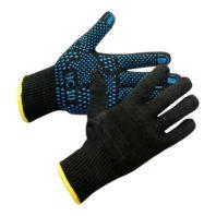 Перчатки ВС 10 с ПВХ покрытием синего цвета 136-0026-01